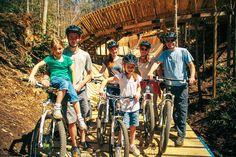 Awesome mountain biking trail--Gatlinburg, TN