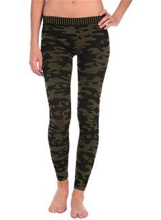 Yoga-Clothing.com - Camo Legging