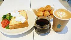 「ブルーボトルコーヒー」の日本2店舗目の「青山 Cafe」に行って限定メニューを食べてみた - GIGAZINE