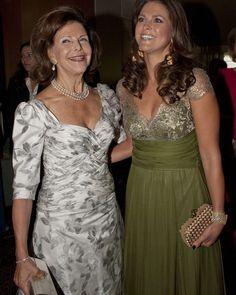 """3 gilla-markeringar, 1 kommentarer - Swedish Royal Family (@svenskakungligt) på Instagram: """"Queen Sílvia of Sweden with her daughter Madeleine"""""""