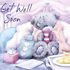 Get Well Soon ~ tatty teddy wanna be Tatty Teddy, Teddy Pictures, Bear Pictures, Cute Pictures, Teddy Images, Teddy Bear Quotes, Get Well Soon Quotes, Get Well Wishes, Blue Nose Friends