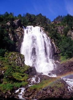 Espenlandsfoss Falls