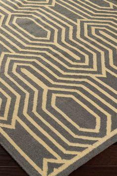 Frontier Wool Rug - Gray on @HauteLook