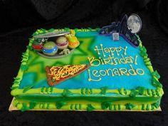 Ninja Turtle Decoration Cake Ninja Turtle Decorations, Ninja Turtle Birthday Cake, Birthday Cake Decorating, Cute Cakes, Ninja Turtles, Birthday Parties, Desserts, Food, Party Ideas