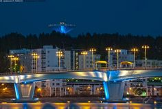 Kuokkalan silta ja vesitorni,  Jyväskylä, Suomi Finland.