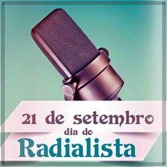 Parabéns aos profissionais da radiodifusão! Que a rádio viva bem e por muitos anos a nos informar, ensinar e entreter. #diadoradialista #radio #comunicacao #comunicação #locutor #locutores #am #fm