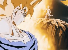 """SanGoku ~ niveau """"Super Saiyan"""" ~ Dragon Ball /Z/GT/Kai ~ [✨GiF✨]"""