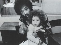 Jimi with his swedish son, James Daniel Sundquist