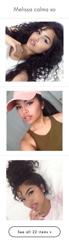 """""""Melissa calma xo"""" by daddyissuess ❤ liked on Polyvore"""
