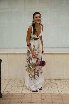 Pretty beachy dress for honeymoon