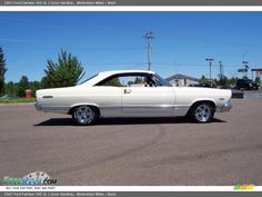 1967 Ford Fairlane 500 XL 2 Door Hardtop in Wimbeldon White Photo No. Ford Torino, Ford Fairlane, Hot Rides, Car Pictures, Old And New, Muscle Cars, Cool Cars, Classic Cars, Trucks