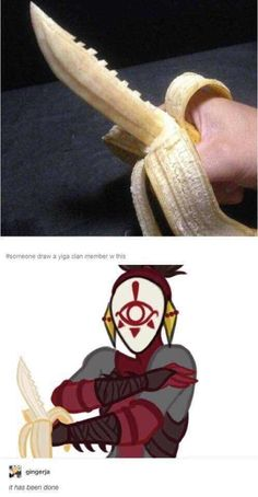 This needs to be a weapon in botw only obtainable by yiga clan members - DIY - Zelda - tips Legend Of Zelda Memes, Legend Of Zelda Breath, Really Funny Memes, Stupid Memes, Yiga Clan, Wie Zeichnet Man Manga, Image Zelda, Geeks, Zelda Twilight Princess