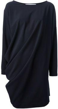 Société Anonyme oversize draped dress on shopstyle.com