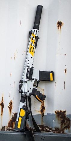 Build Your Sick Custom Assault Rifle Firearm With This Web Interactive Firearm Gun Builder with ALL the Industry Parts - See it yourself before you buy any parts Weapons Guns, Airsoft Guns, Guns And Ammo, Arsenal, Custom Guns, Custom Ar, Military Guns, Fire Powers, Assault Rifle