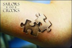 puzzle tattoo - Google Search