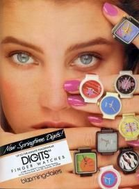Swatch watch rings- 80s way back days