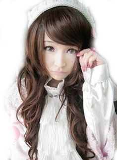 "25"" Sexy Wave Wig (Model: Jf010246) (Dark Brown) by cool2day, http://www.amazon.com/dp/B006QFM89Y/ref=cm_sw_r_pi_dp_eBxZrb1N6CY07"