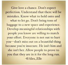 Best Of Giving Love A Chance Quotes Soaknowledge