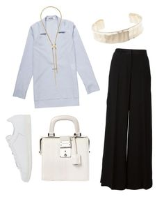 """G O L D"" by babemagnet ❤ liked on Polyvore"