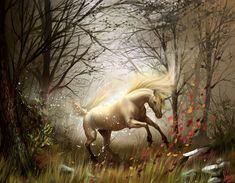 Fantasy Unicorns wallpaper