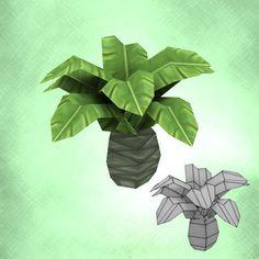 Cartoon of palm tree