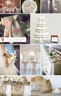 burlap wedding ideas branson springfield missouri wedding photographer tiffany kelley photography