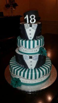 Torta 18 anni ragazzo 18th birthday cake boy torte for Torte 18 anni ragazzo