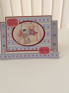 Stepper card using Tilly Daydream Ultimate collection