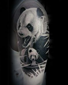 100 Panda Bear Tattoo Designs For Men