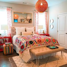 A gallery of photos of interior designs by Shauna Glenn Design. Woman Bedroom, Girls Bedroom, Cozy Bedroom, Bedroom Decor, Budget Bedroom, Modern Bedroom, Bedroom Ideas, Bedroom Inspiration, Bedroom Apartment