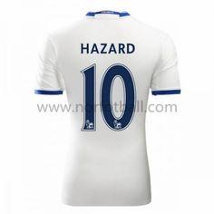 Billige Fotballdrakter Chelsea 2016-17 Hazard 10 Tredje Draktsett Kortermet Premier League, Chelsea 2016, Football Kits, Club, Sports, Tops, Eden Hazard, Fashion, Soccer Jerseys