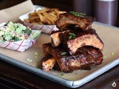 Sugarfire Ribs@ sugarfire smoke house in Missouri