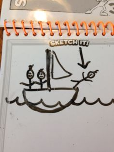 Man overboard! You Draw, Party Games, Fun, Fin Fun, Funny, Hilarious