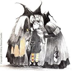 Dorrie the little witch by Patricia Coombs