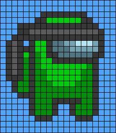 Pixel Art Templates, Perler Bead Templates, Diy Perler Beads, Perler Bead Art, Melty Bead Patterns, Hama Beads Patterns, Beading Patterns, Pichu Pokemon, Graph Paper Drawings