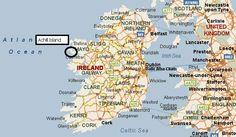 Irish Sea, Donegal, Dublin Ireland, Carlisle, Belfast, Leeds, Preston, Newcastle, Manchester