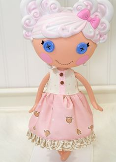 Lalaloopsy Clothes Bunny Dress by LittleNoel on Etsy,