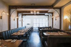 3 Restaurant Interior Designers You Should Know About: Sarah Abdallah, Michael Groth and John Meadow Dating In New York, York Restaurants, Tasting Menu, Restaurant Interior Design, Wine List, East Village, Cool Bars, Interior And Exterior, Table