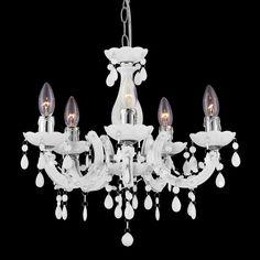 Kronleuchter Blanche 5L Klassisch #kronleuchter #leuten #klassisch Kronleuterhaus: https://www.kronleuchterhaus.de/collections/schlafzimmer-kronleuchter/products/kronleuchter-blanche-5l-klassisch
