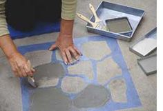 HOME DZINE Garden | How to paint a patio floor