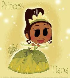 Chibie Tiana Water Lily Dress by princekido.deviantart.com on @deviantART
