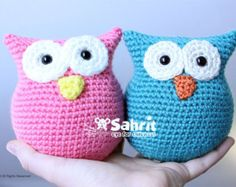 Cute Little Amigurumi Owl : Easy owl amigurumi pdf crochet pattern by ashtreecrochet