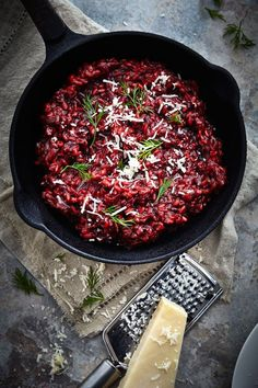 Recipe // Beetroot Rissotto…