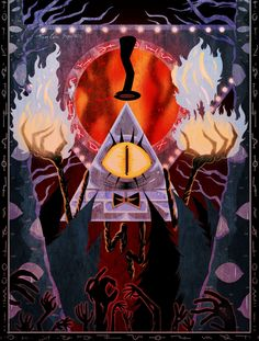 Someday we'll have a tapestry that we will not explain to anyone.  Bill Cipher, Gravity Falls