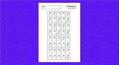 Pracovný list pre prváčikov z matematiky. Jednoduchý, zábavný a pohodlný spôsob, ako si detičky utvrdia písanie čísel a počítanie do 10. Deti majú v pracovn