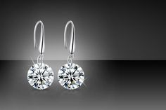 Eclipse Crystal Drop Earrings with Swarovski Elements