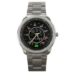 1971 VW Beetle kmh Speedometer Sport Metal Watch | zarkop - Jewelry on ArtFire