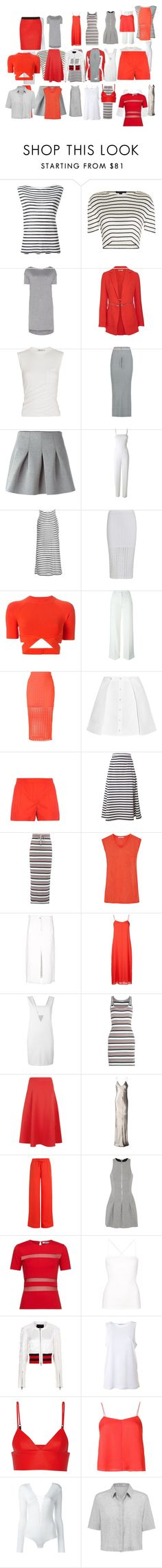 """Untitled #3849"" by luciana-boneca on Polyvore featuring T By Alexander Wang and Alexander Wang"
