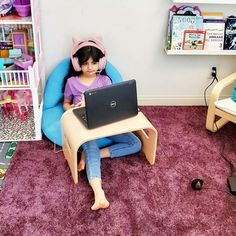 Create a cozy learning spot like this one by @funwithmama! Our Flex-Space Comfy Floor Seat and Student Lap Desk are perfect for virtual learning at home—and are classroom favorites too! #learningathome #virtuallearning Lap Desk, Desk Set, Mobile Desk, Traditional Chairs, Classroom Furniture, Back To School Essentials, Floor Seating, Deco Mesh, Boy Room