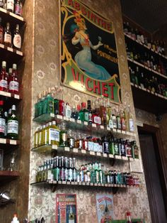 The Absinthe store, Prenzlauer Berg.  I don't drink the stuff, but the store was gorgeous